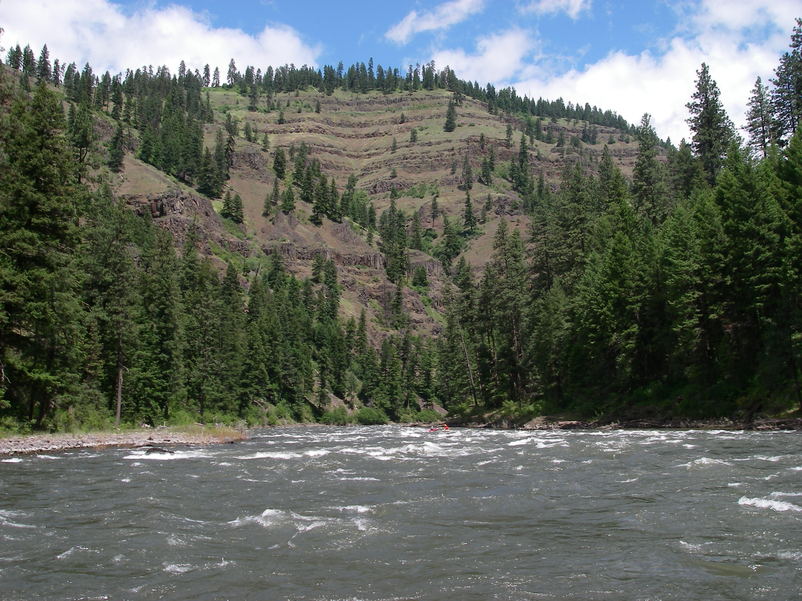 Grand Ronde Oregon Map.American Whitewater