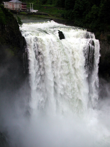 Snoqualmie Falls photo at 7500 cfs