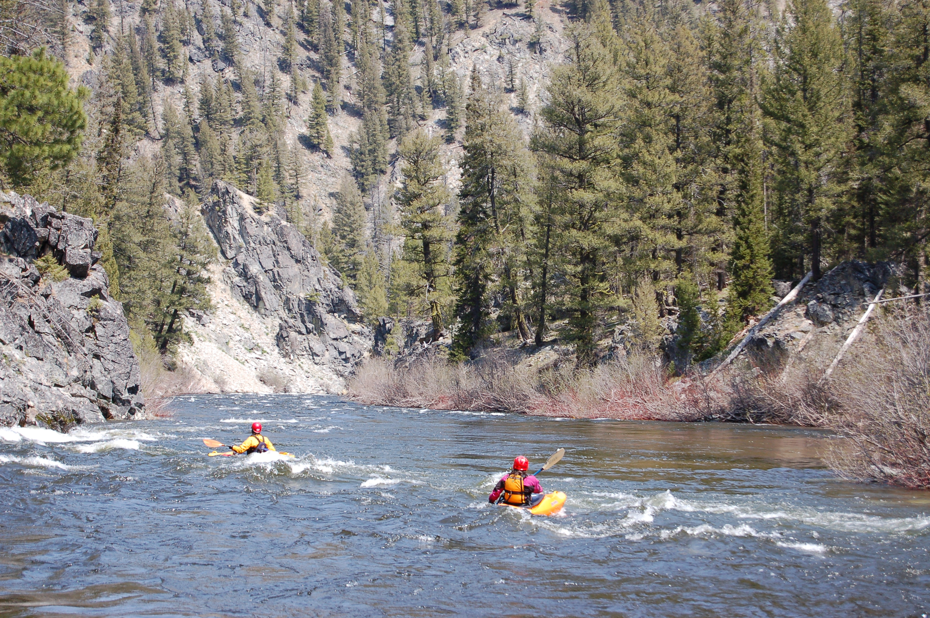 Marsh Creek: State Highway 21 to Middle Fork Salmon
