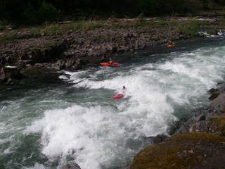 American Whitewater 3 Three Lynx Power Station To North