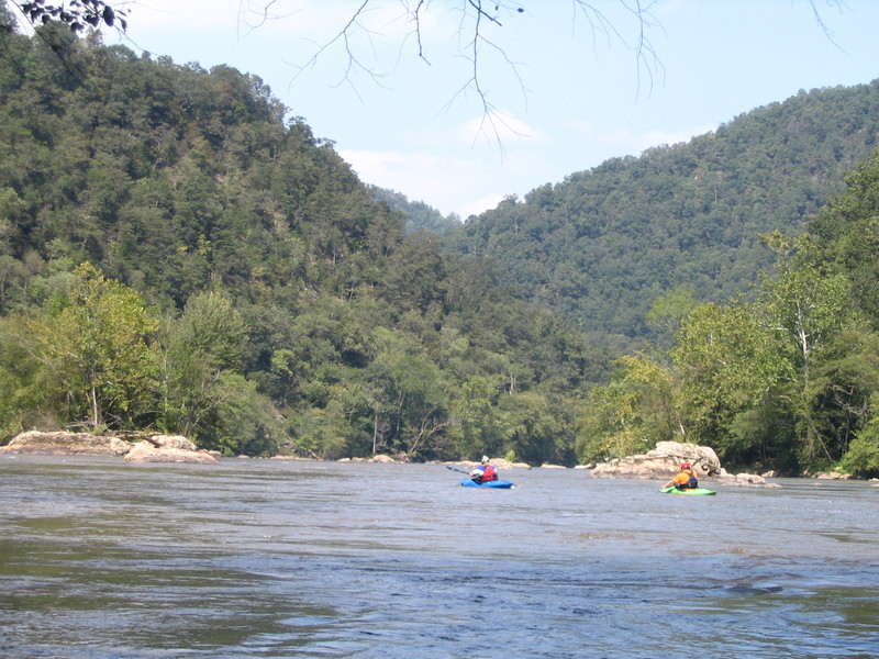 French Broad: 9  Barnard to Hot Springs
