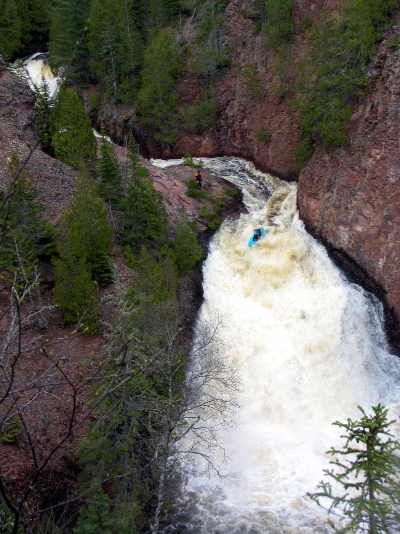 Devil S Kettle Cook County Minnesota A Most Unusual Waterfall The Brule River