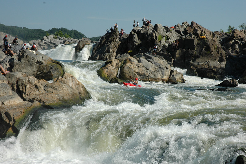 American Whitewater - 3. Great Falls (MD Lines), Potomac Maryland, US