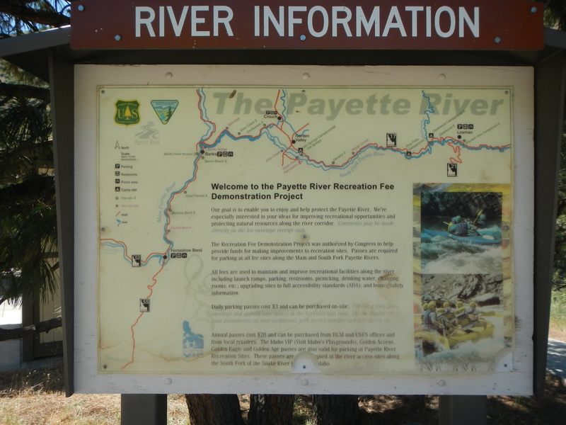 Payette: 1  Upper Main - Banks to Beehive Bend