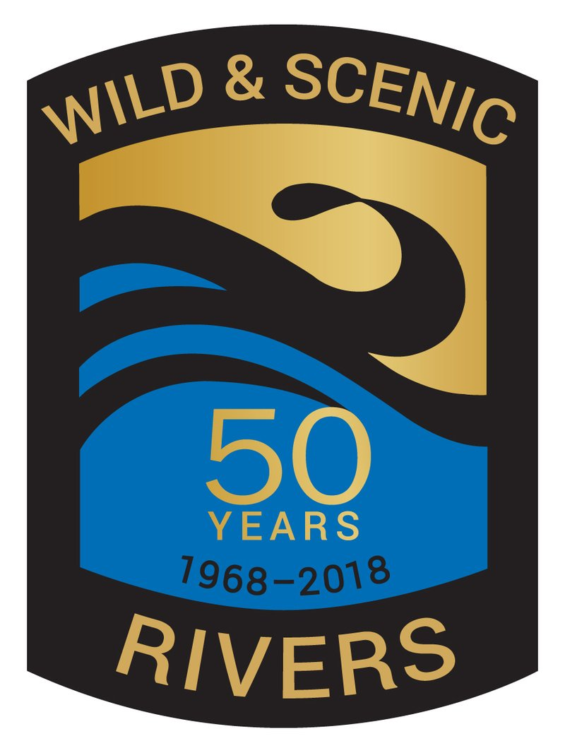 Wild and Scenic 50th logo
