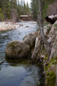 Gauge Rock at Wawona
