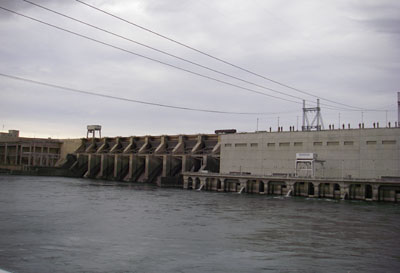 Ice Harbor Dam on the Snake River